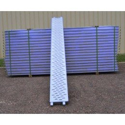 Lot de 30 planchers peints 3m x 0.30m